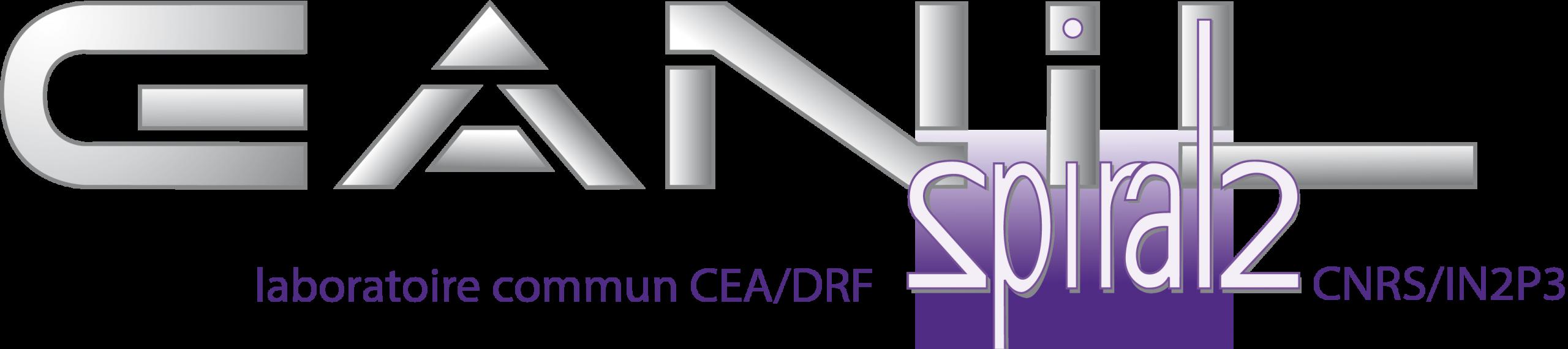 Logo of GANIL